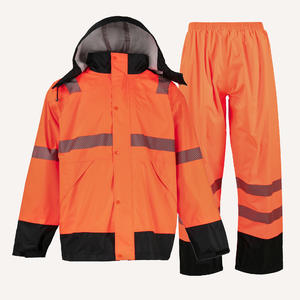 1705 Outdoor Waterproof Hooded Raincoat Suit