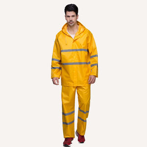 7242  Safety Waterproof Suit Mens Waterproof Jacket