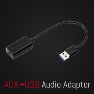 Specific AUX-USB Audio Adapter For Select Car Models Without Original 3.5mm AUX Input Jack