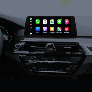 CarPlay/Android Auto interface for BMW iDrive NBT-EVO ID5 & ID6 system