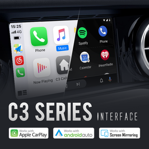 C3 CarPlay/Android Auto adapter, faster and smarter