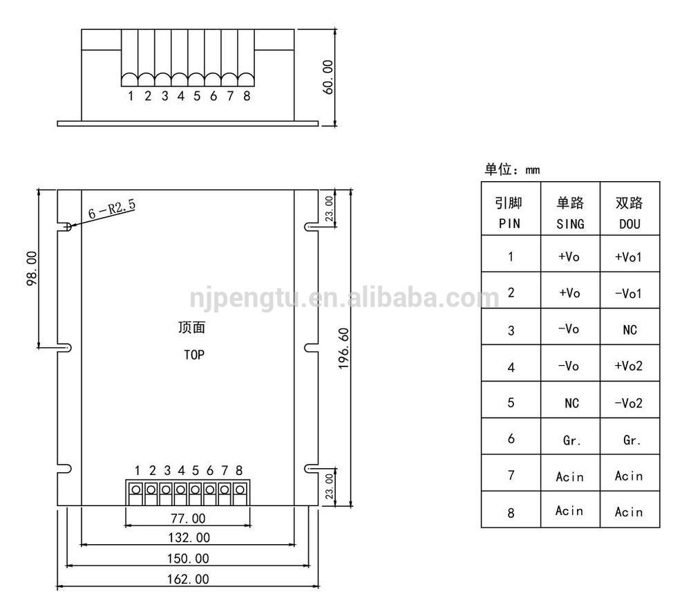 PAB-E Series 200-300W ac dc power module