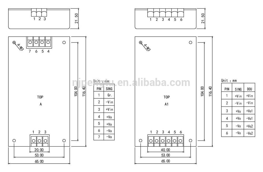 PDB-A/A1 Seriesdc-dc converter-dc-power-supply