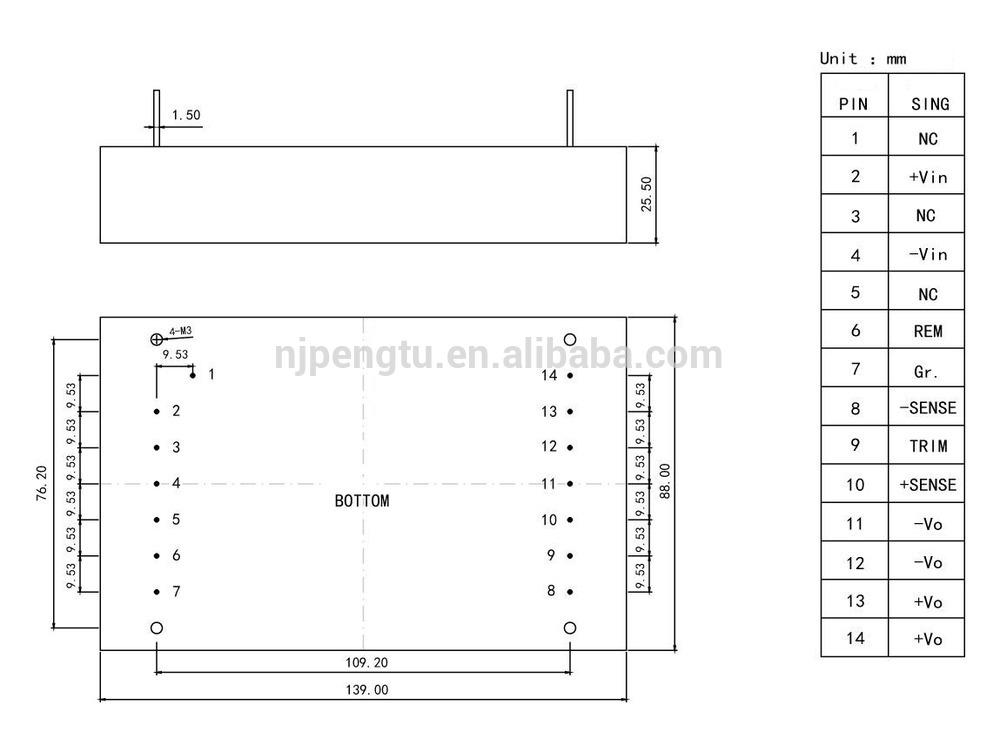 voltage converter PD-L Series