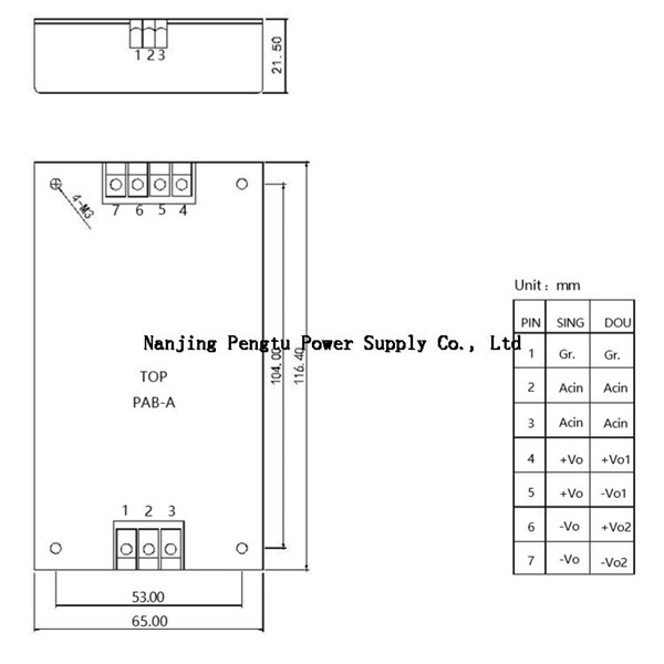 Method and step for judging module power failure