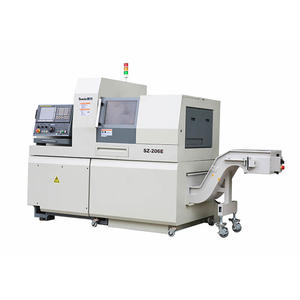 china customized 6 axis swiss type CNC lathe factory