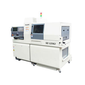 customized Swiss type CNC sliding head automatic lathe exporters