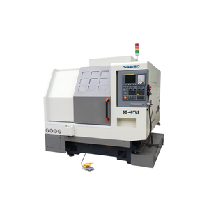 low price customized slant bed CNC turn mill lathe factory