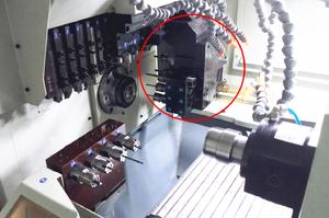 Customized CNC Swiss type lathe for customer manufacturers