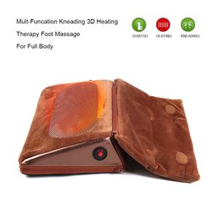 Circulation Vibrating 3D Shiatsu Air Pressure Revitive Electric Heated Foot Massager As Seen On TV