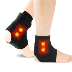 Far Infrared Heating Electric Temperature Controlled USB Ankle heating pad belt for Pain Relief