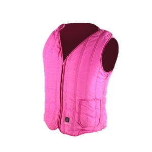 Sleeveless Garment Zipper Closure Women's Heated Vest
