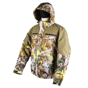Jungle Forest Camouflage Water-resistant Windproof Hunting Heated Jacket