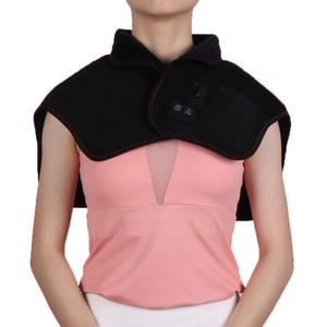 Electric Massaging Neck And Shoulder Heated Pad With USB Plug