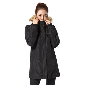 Casual Stylish Slim Heated Coat Womens Long Coat For Winter