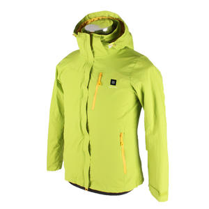 Soft Liner Windproof Hi Vis Heated Winter Jacket For Climbing Mountaineering