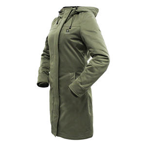 Casual Stylish Fitting Slim Long Heated Coats For Cold Whether