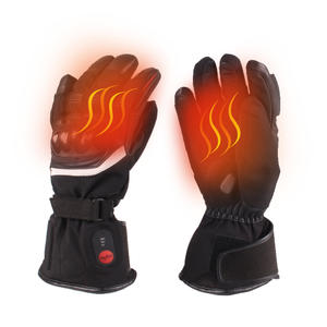 Electric Rechargeable Battery Heated Motorcycle Gloves for Winter