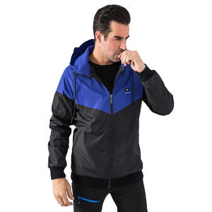 Cool Wearing Heated Windbreaker Winter Sport Clothing
