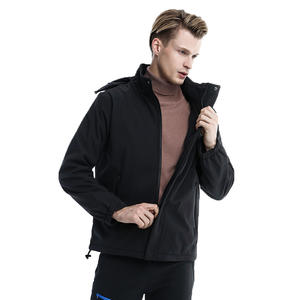 Casual Wearing And Sporting Warm Soft Fleece Electric Heated Coat Mens Jacket