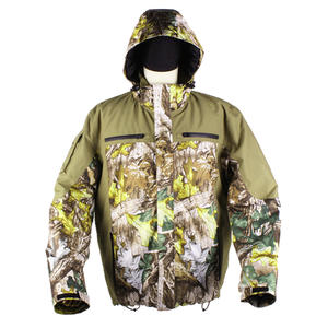 Jungle Forest Camouflage Water-resistant Windproof Heated Hunting Clothes