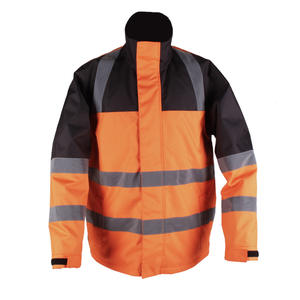 Soft Fleece Liner Windproof Safety Hi Vis Heated Workwear
