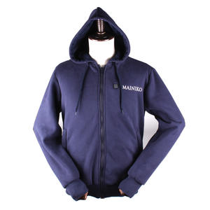 Blue Unisex Oversize Street Wear USB Heated Sport Wear