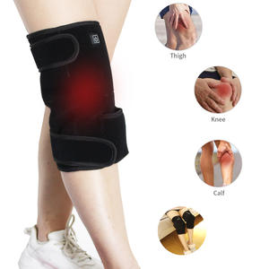 Far Infrared Electric Battery Powered Heating Knee Heating Pad For Leg Pain Relief