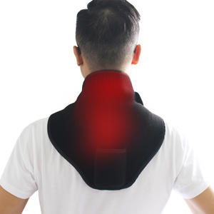 Battery Powered Operated Neck Heating Pad Portable Neck Massage Heat Therapy Wrap