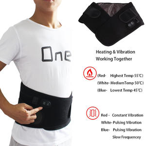 Neoprene Material Temperature Controlled Electric Heating Pads for Back Pain