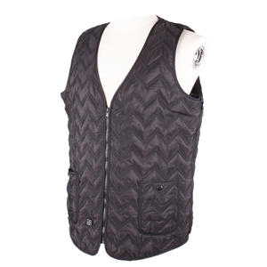 Customized Wavy Pattern Electric Far Infrared Heated Vest