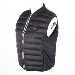 Feminine Down Filling Carbon Fiber Heating Elements Rechargeable Heated Vest