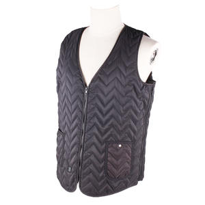 Classical Type V-neck Wavy Design MAINIKO Heated Battery Vest