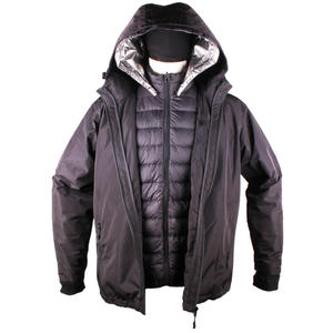 2-in-1 Goose Down Heated Jacket For Male