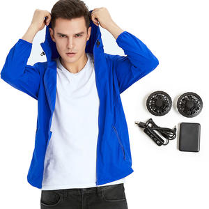 Fashion Model Battery 5V USB Cooling Air Conditioned Jacket In Summer