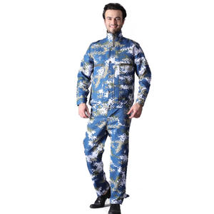 Sun-proof Camo Fan Cooling Air Conditioned Jacket For Outdoor Worker