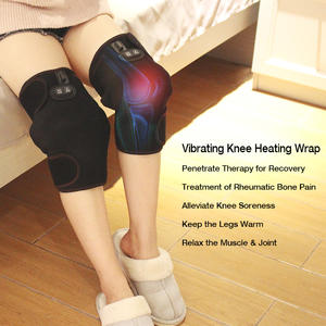 Temperature Controlled Far Infrared Battery Powered Heating Pad For Knee