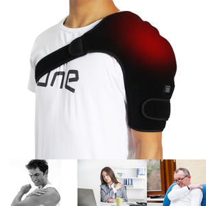 OEM Factory Neoprene Material Electric Heating Pads For Back Pain