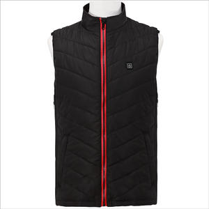 Heat Waistcoat USB Rechargeable Motorcycle Mens Heated Vest