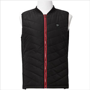 Mens Thermal Down Waistcoat Rechargeable Battery Heated Vest