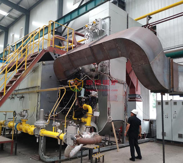 Steel industry Dual fuel (gas&pulverized coal) steam boiler