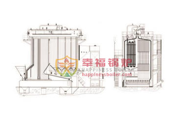 35T/H-130T/H SHL series steam boilers
