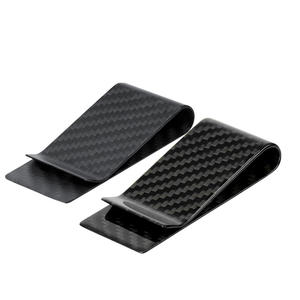 High quality Custom OEM carbon fiber money clip manufacturer