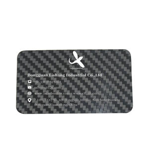 OEM carbon fiber business card price manufacturer