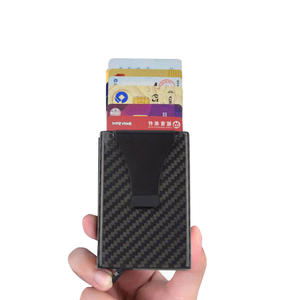 High quality Custom OEM carbon fiber card clip