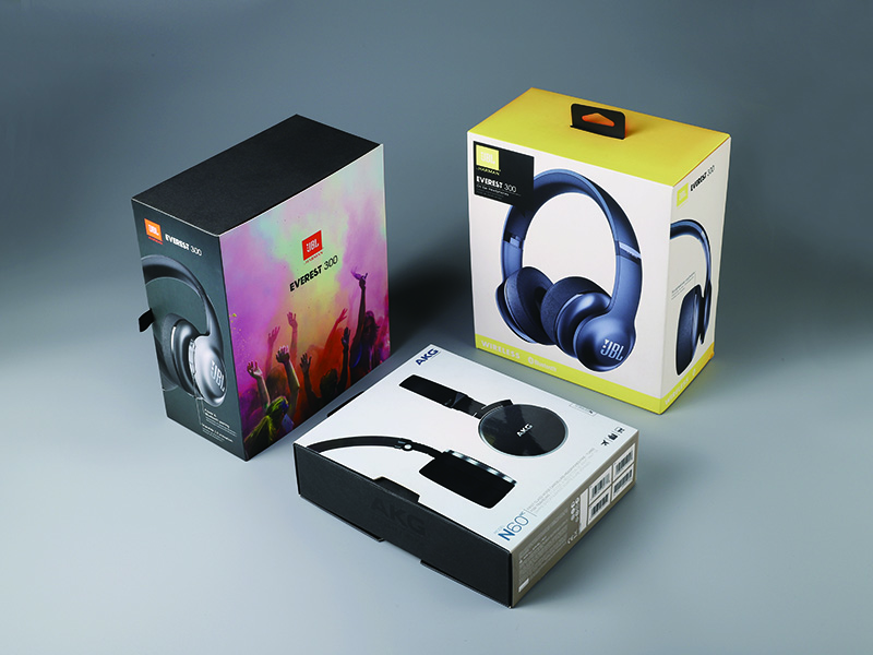 Headset microphone box