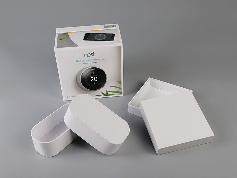 Nest Learning Thermostat Packaging Box