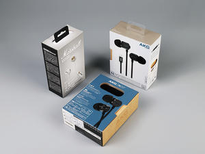 Earphone Box Headset Microfone Box