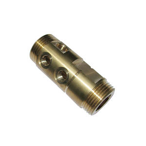 CNC Lathing Precision brass CNC Machined Metal Parts