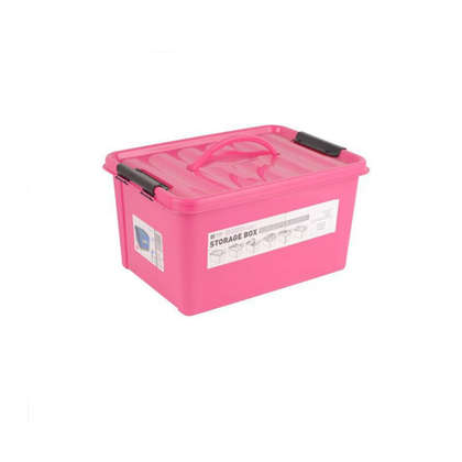plastic compartment storage box with lid